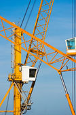 Cranes in Piombino harbour. — Stock Photo