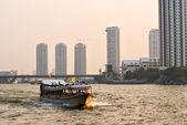 Chao Praya River, Bangkok. — Stock Photo