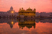 Sunset at Golden Temple. — Stock Photo
