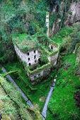 Medeltida slott. — Stockfoto
