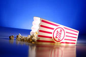 Popcorn at the Movies — Stock Photo