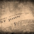 Bible New Testament St. John - Stockfoto