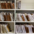 File Folders on Shelf — Stock Photo #2330061