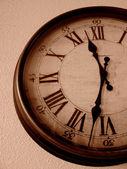 Clock on Wall — Stock Photo