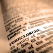 Royalty-Free Stock Photo: Definition of Foreclosure