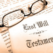 Last Will and Testament — Stock Photo #2349080
