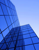 Office building windows — Stockfoto