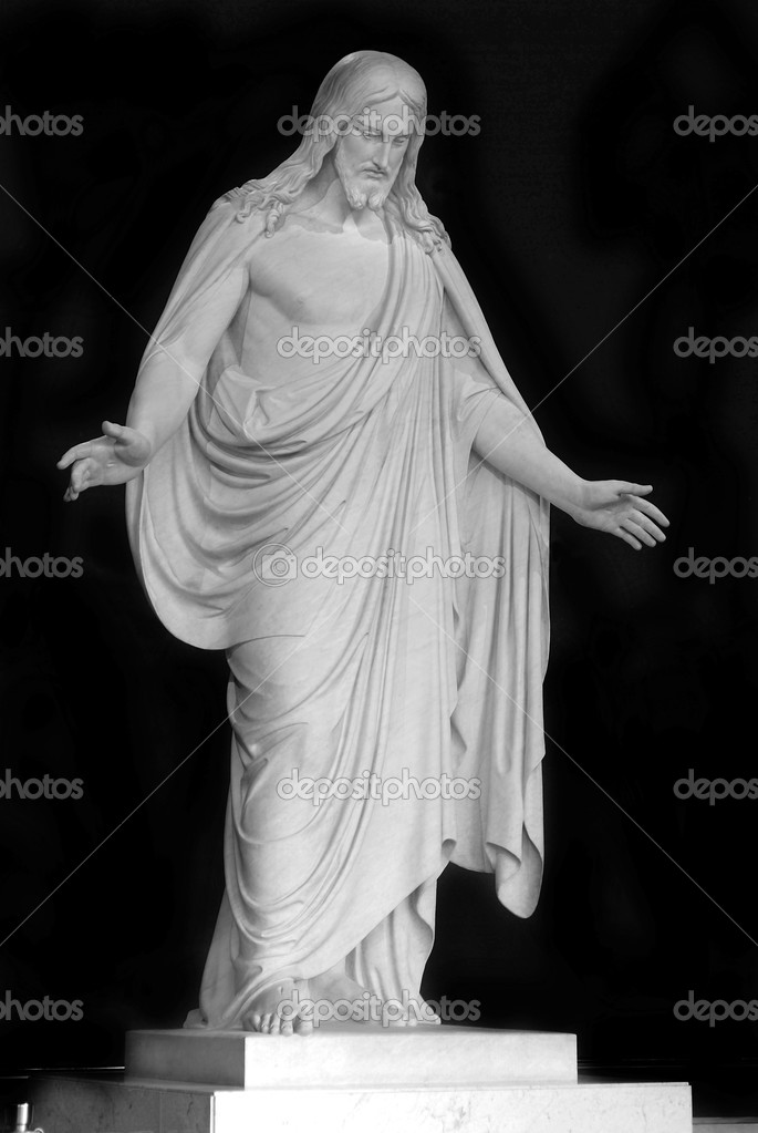 Statue of Jesus Christ with hands outstretched — Stock Photo #2346054