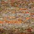 Detail of Old Brick Wall — Stockfoto