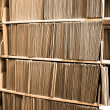 File Folders on Shelf — Stockfoto