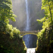 Multnomah Waterfalls - Stock Photo