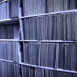 File Folders on Shelf — Stock Photo