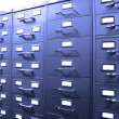 Stock Photo: Business Filing Cabinets