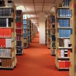 Rows of Library Books — Stock Photo #2507399