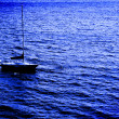 Sailboat on Water - Foto Stock