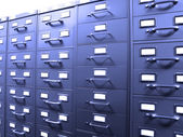 Business Filing Cabinets — Stock Photo