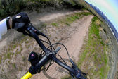 Mountain Biking — Stok fotoğraf