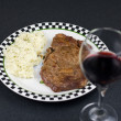 ribeye steak — Stock Photo