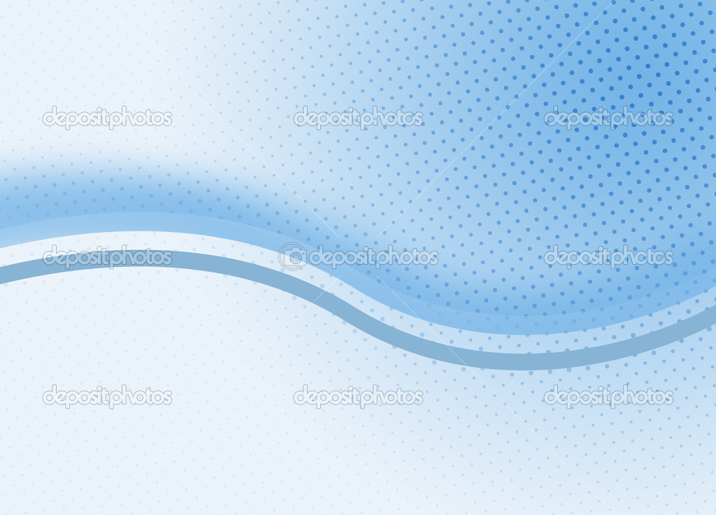 Curves on abstract bluish background. Halftone effect. — Stock Photo #2462588