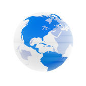 Transparent Globe — Stock Photo