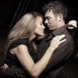Passionate young couple — Stock Photo