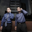 Businessmen on the phone — Stock Photo