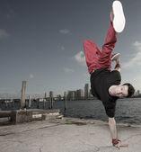 Cool танцевальные движения — Стоковое фото