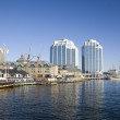 Halifax Waterfront - Tall ships festival — Stock Photo