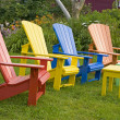 Stock Photo: Garden Chairs