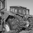 Modern Farm Tractors - Foto Stock