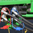 Stock Photo: Hydraulic Hoses