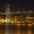 Angus L. MacDonald Bridge, Halifax — Stock Photo