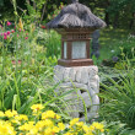 Garden lantern — Stock Photo #2339644