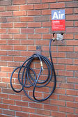 Gas Station Compressed Air Hose — Stock Photo