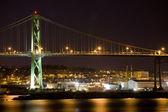 Angus L. MacDonald Bridge, Halifax — Stock Photo