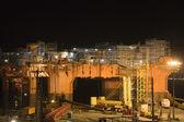 Oil Rig in Dry Dock — Stock Photo