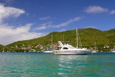 Bequia Boats — Stock Photo