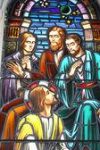 Jesus falando para o — Fotografia Stock