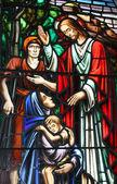 Jesus Speaking to the Sick — Stock Photo