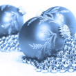 Royalty-Free Stock Photo: Blue Christmas
