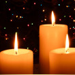 Christmas Candles - Stock Photo