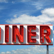 Stock Photo: Diner Sign