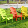 Garden Chairs — Stock Photo #2372138