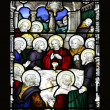 Stock Photo: Last Supper Stained Glass