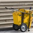 Mobile Industrial Clean Up Cart — Stock Photo