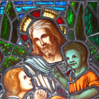 Jesus and the Children - Foto Stock