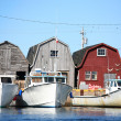 Lobster Boats — Stock Photo