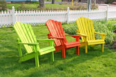 Garden Chairs — Stock Photo