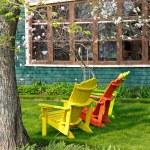Magnolia Chairs 2 — Stock Photo #2408830