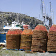 Stock Photo: Newfoundland Crab Pots